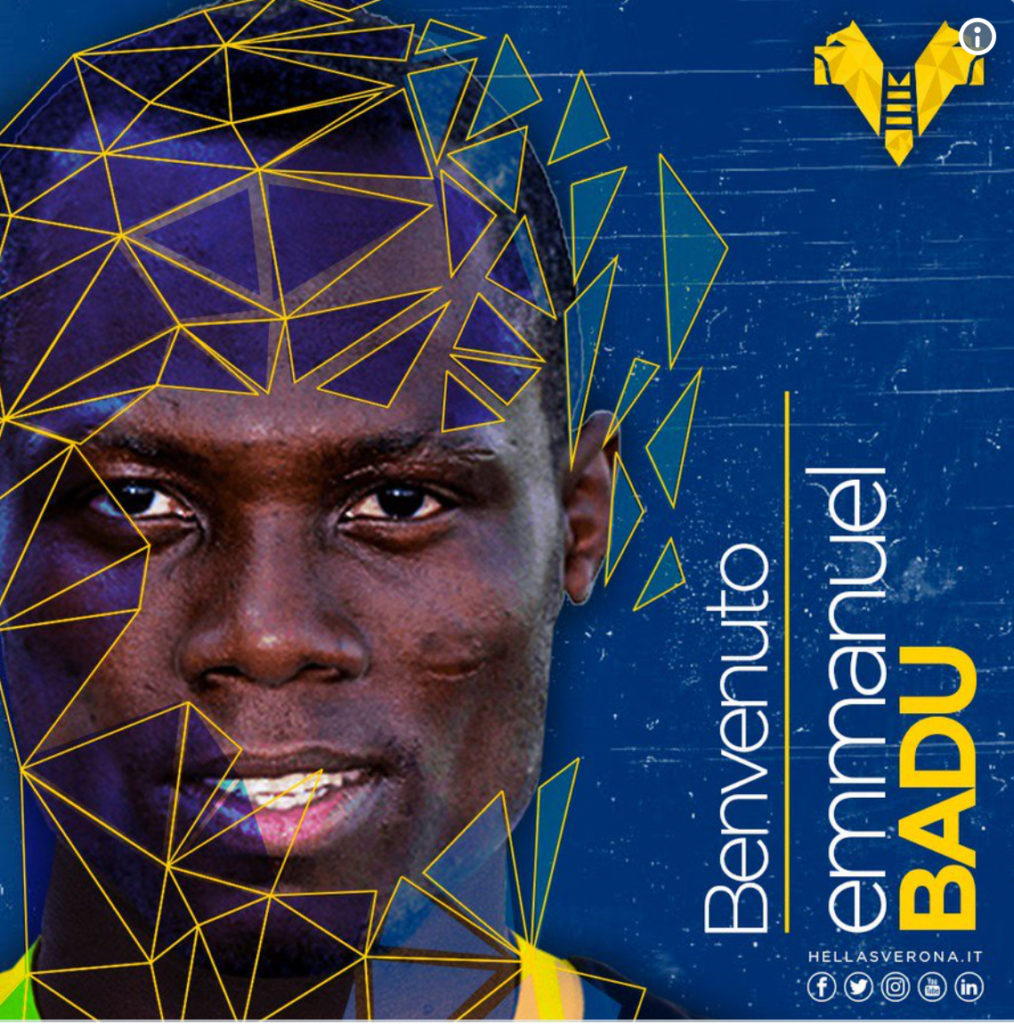 BREAKING NEWS: Emmanuel Agyemang-Badu joins Hellas Verona on a season long loan