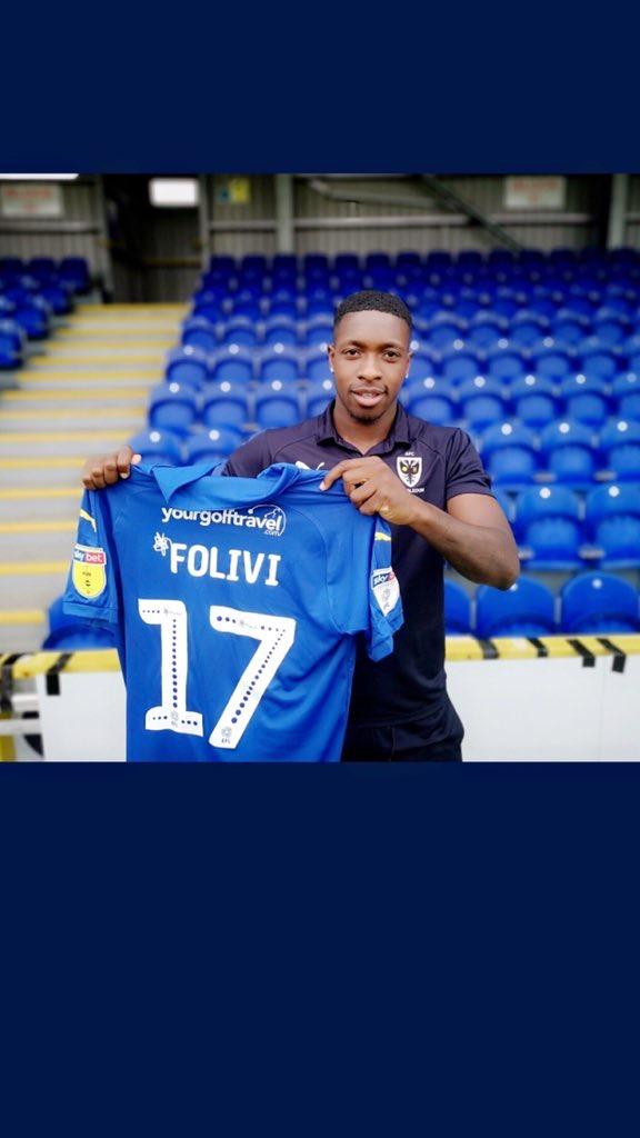 Ghanaian youngster Michael Folivi joins AFC Wimbledon