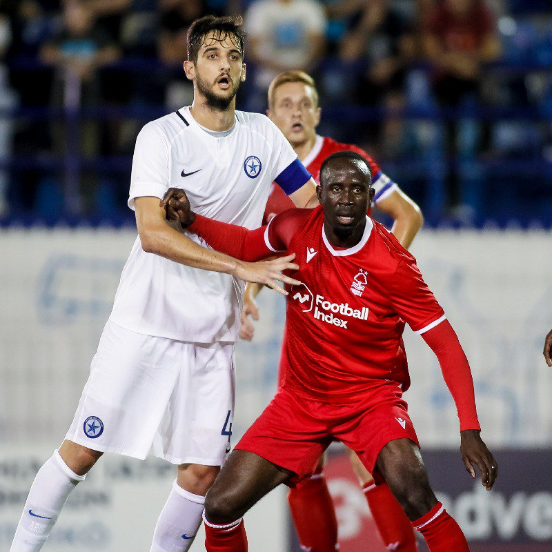 Albert Adomah makes Nottingham Forest debut in preseason win over Greek side Atromitos