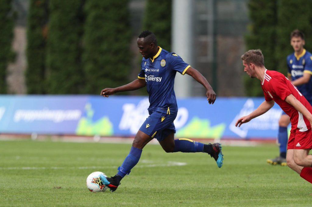 Ghana midfielder Emmanuel Agyeman-Badu wants to help Hellas Verona maintain serie A status