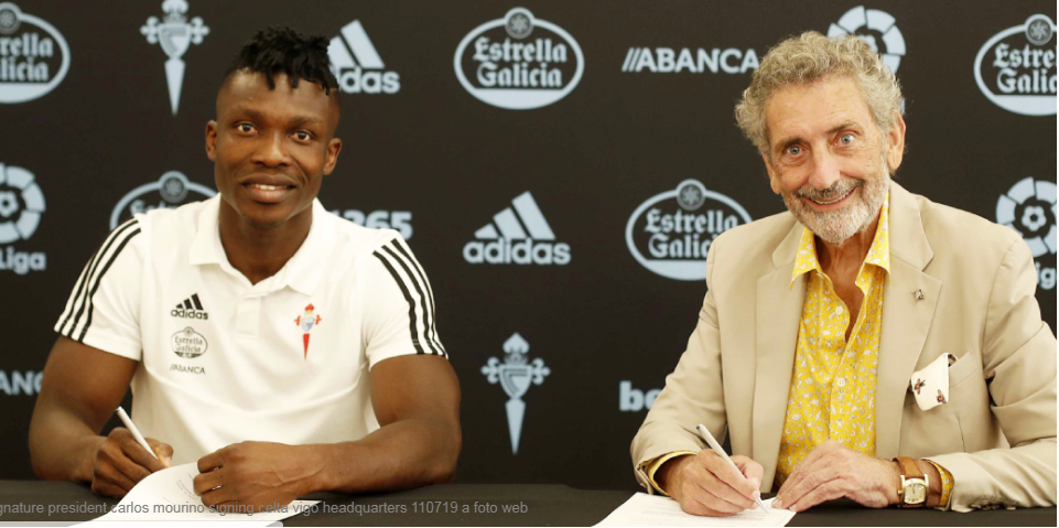 VIDEO: Joseph Aidoo joins Spanish side Celta Vigo