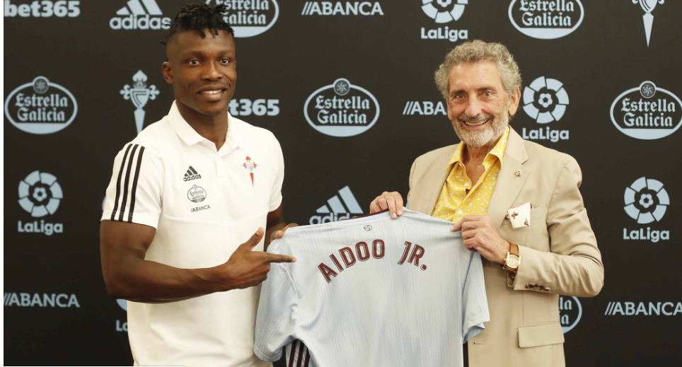 PHOTOS: Ghana defender Joseph Aidoo completes move to Celta Vigo on a five year deal