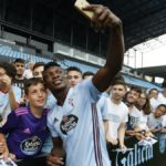 PHOTOS: Joseph Aidoo unveiled at Celta Vigo, meets fans and signs autographs