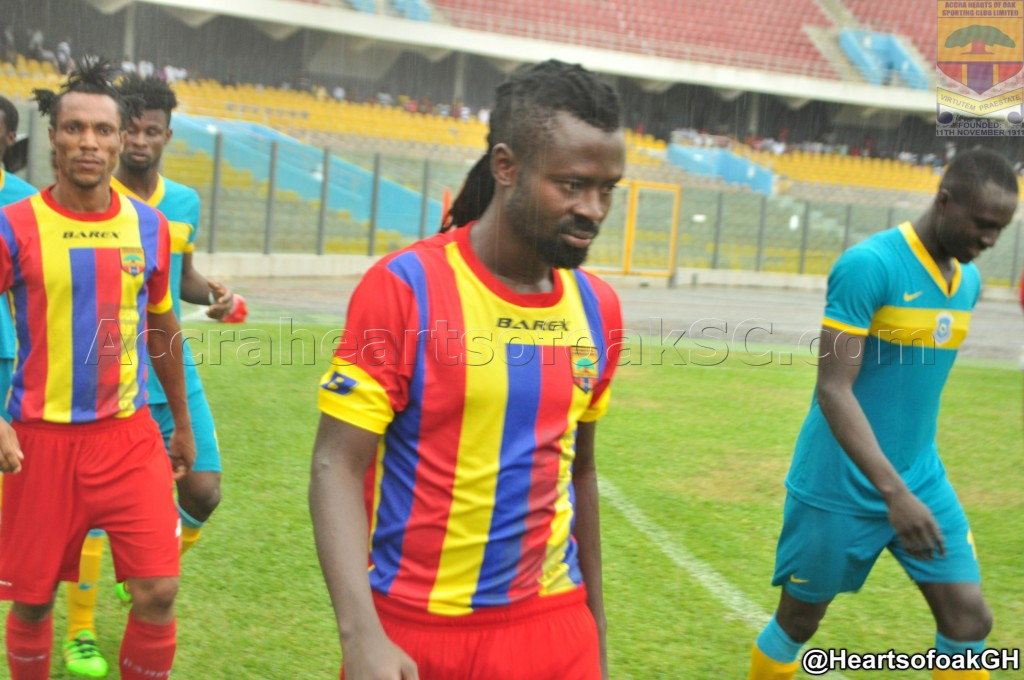 Malik Akowuah yet to decide future after parting ways with Hearts
