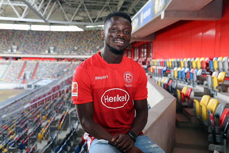 Nana Ampomah: Who is Fortuna Düsseldorf's successor to Dodi Lukebakio?
