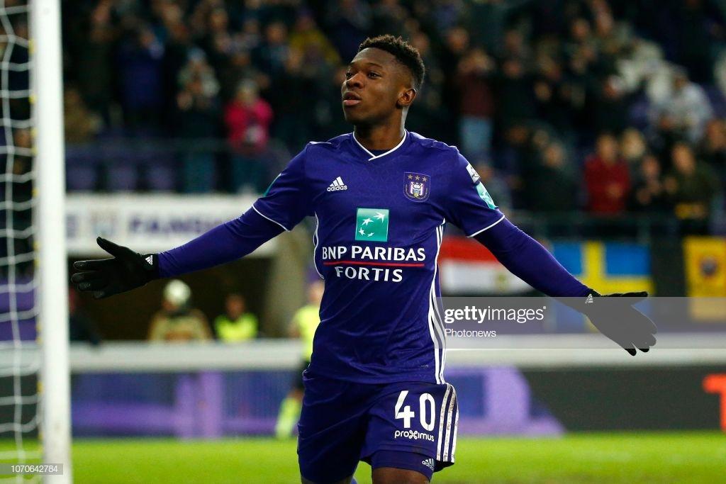 Anderlecht sporting director insists Francis Amuzu 'has bright future'