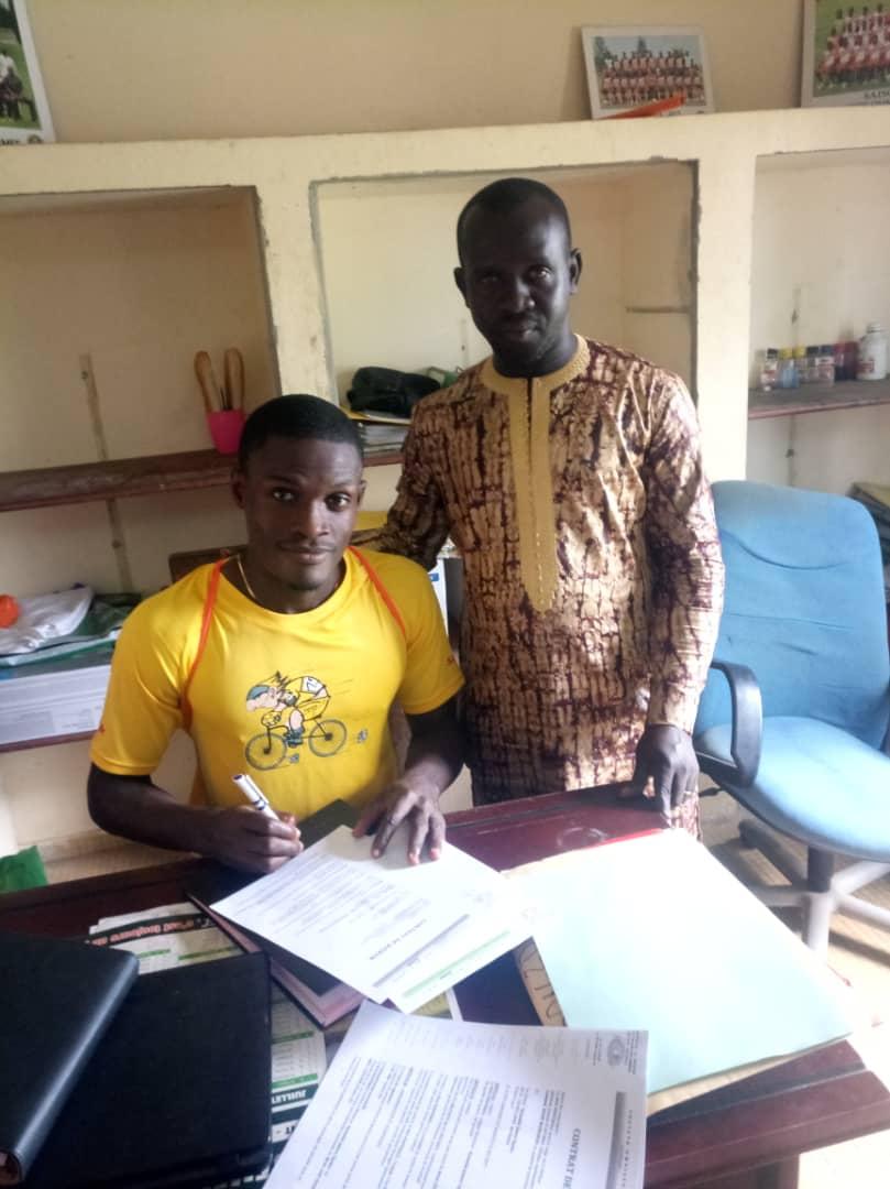Ghanaian defender James Opoku joins Ivorian side Société Omnisports de l'Armée