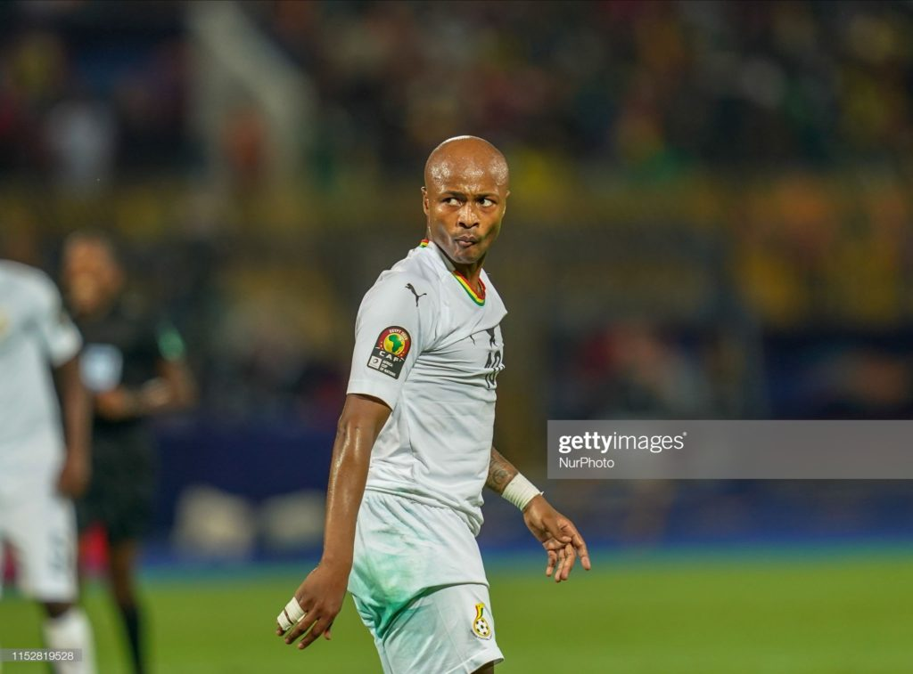 2019 Africa Cup of Nations: There are no conflicts in the team- Andre Ayew