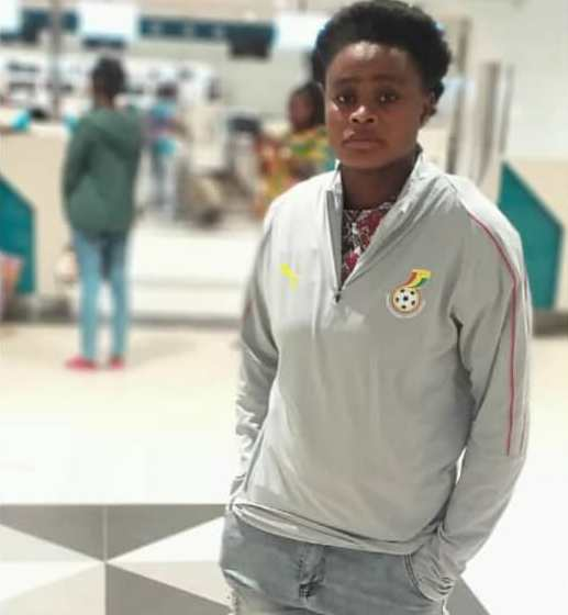 Ghana star Princella Adubea flies out to Spain to start career with Sporting Club De Huelva
