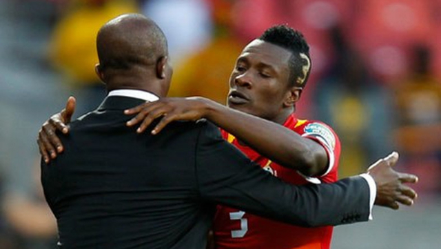 Ghana coach Kwesi Appiah refuses to commit on Asamoah Gyan starting role in Guinea Bissau clash