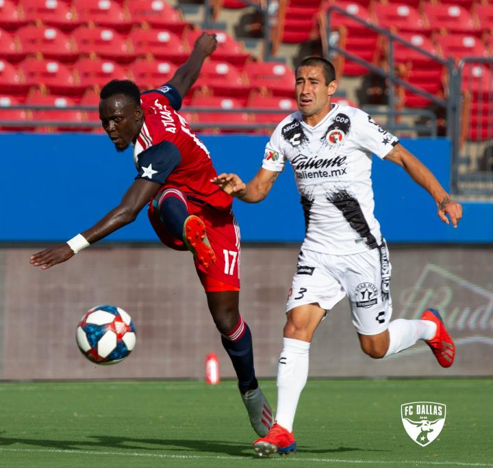 Duo Edwin Gyasi and Francis Atuahene feature in FC Dallas defeat to Sevilla in friendly