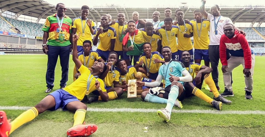 Kumasi-based Kharis Sports Academy pip Accra-based Greengen FC to win Gothia U18 Cup