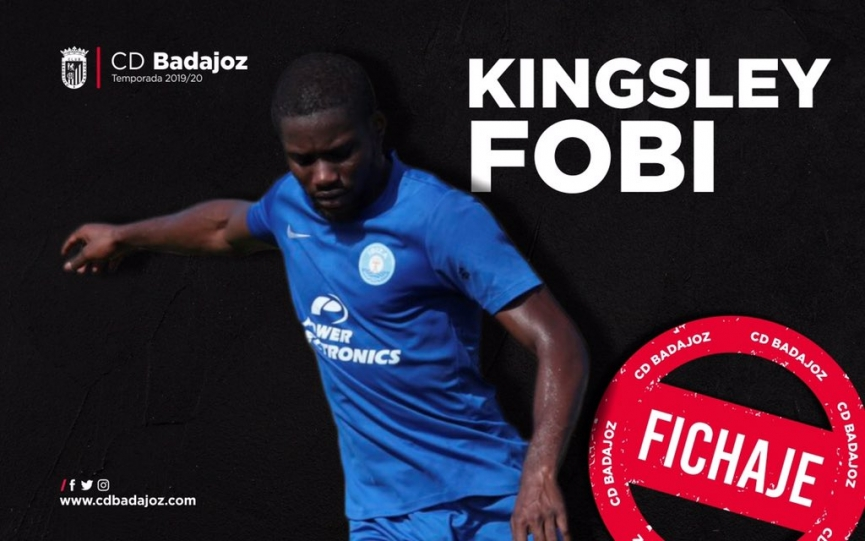 OFFICIAL: Kingsley Fobi completes loan switch to Spanish side CD Badajoz