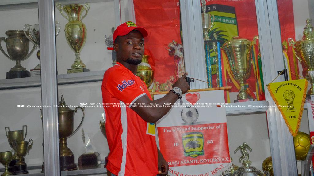 New Kotoko goalkeeper Kwame Baah impressed by club's trophy haul