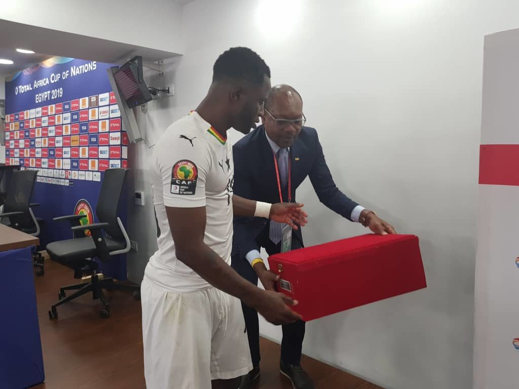 2019 Africa Cup of Nations: Ghana midfielder Wakaso expresses gratitude over Man-of-the-Match award