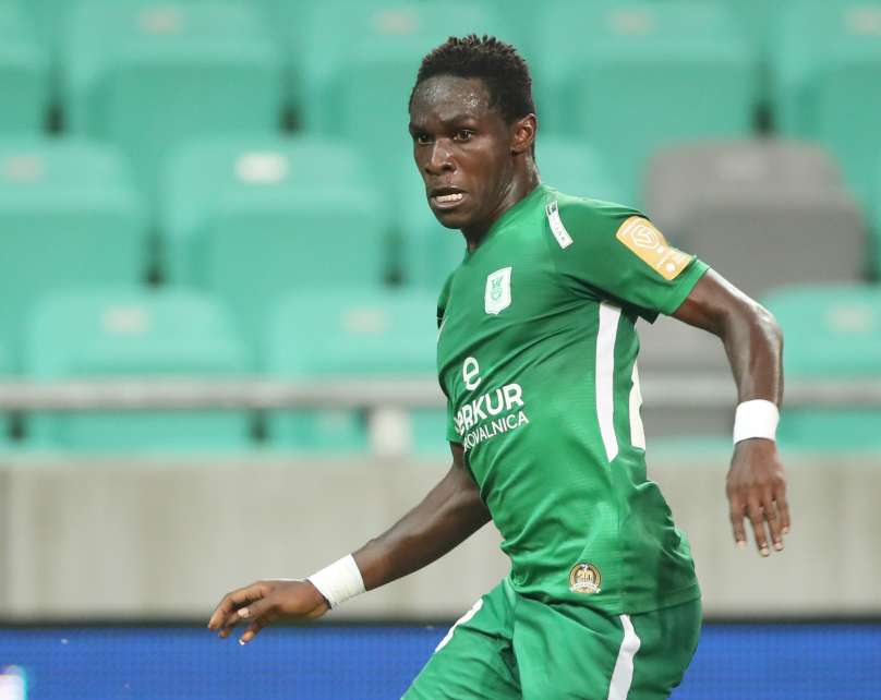 Eric Boakye nets debut goal for Olimpija Ljubljana in Europa League qualifying round defeat to RFS