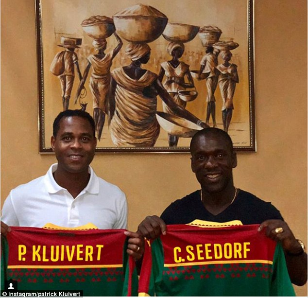 BREAKING NEWS: FECAFOOT sack Clarence Seedorf and Patrick Kluivert after AFCON flop