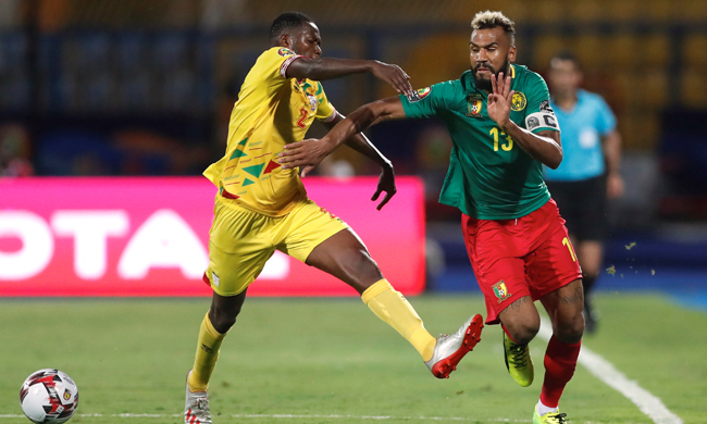 Cameroon edged into second place after 0-0 draw with Benin who qualify
