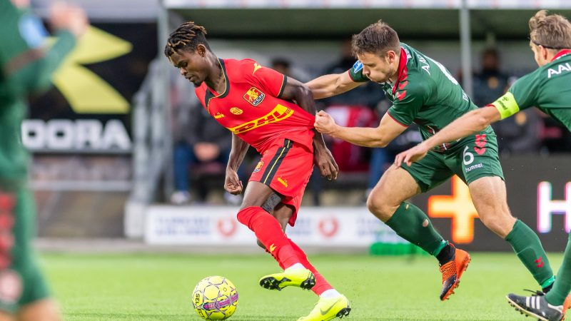 Godsway Donyoh named Man of the Match in  FC Nordsjælland's victory over AC Horsens