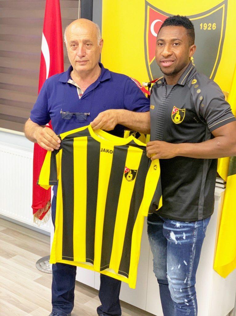 EXCLUSIVE: Ghanaian winger Joseph Mensah joins Turkish side Istanbulspor