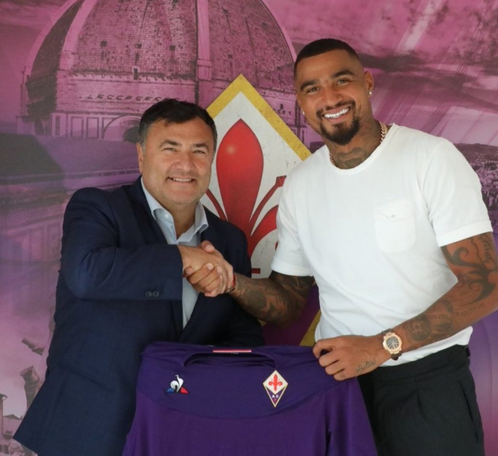 PHOTOS: Kevin-Prince Boateng pens two-year deal with Fiorentina