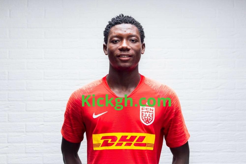 Ghanaian teen Maxwell Woledzi joins Danish side FC Nordsjaelland