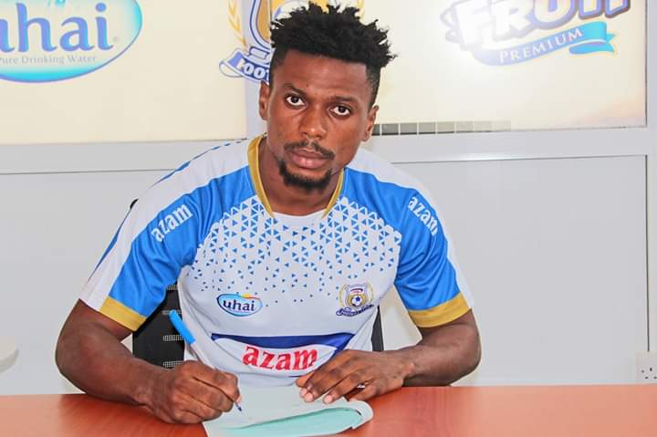 Richard Djodi bids farewell to Ashantigold after completing Azam FC move