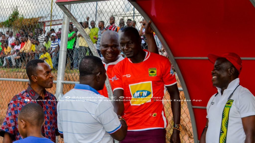 PHOTOS: New Asante Kotoko striker George Abege gets a rousing welcome
