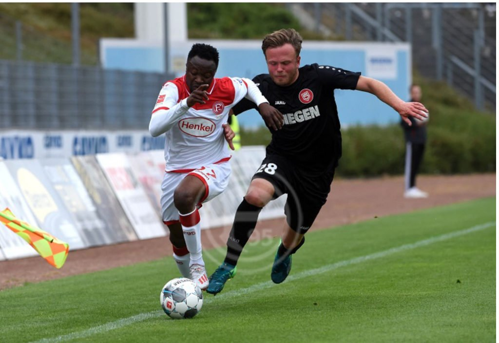 Bernard Tekpetey scores on debut as Fortuna Düsseldorf wallop Siegen in pre-season friendly