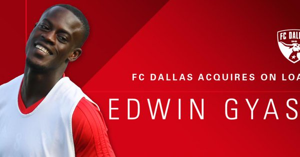 OFFICIAL: Ghana winger Edwin Gyasi joins MLS side FC Dallas on loan