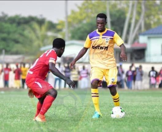 Medeama defender Bright Enchil joins Asante Kotoko on permanent deal