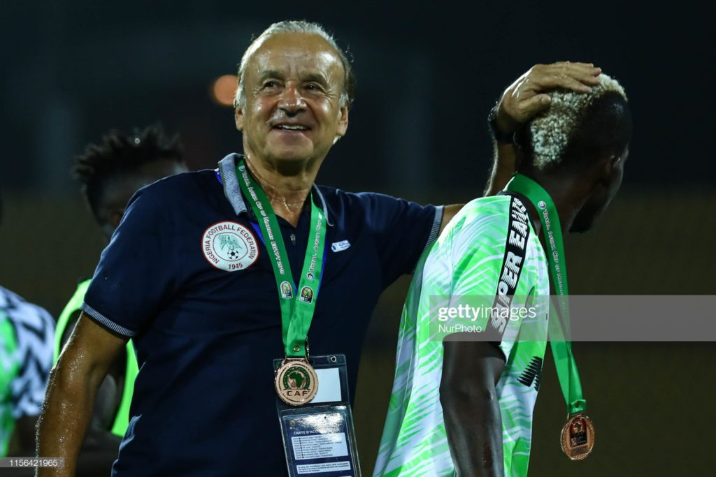 We can win AFCON 2021- Nigeria coach Gernot Rohr