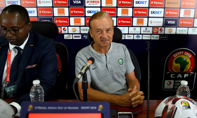 2019 Africa Cup of Nations: Nigeria coach Rohr wary of much improved Algeria