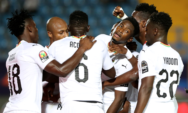 VIDEO: Watch highlights of Ghana's 2-0 win over Guinea Bissau - 2019 Africa Cup of Nations