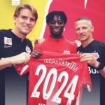 Ghana U23 left back Gideon Mensah extends Red Bull Salzburg stay until 2024