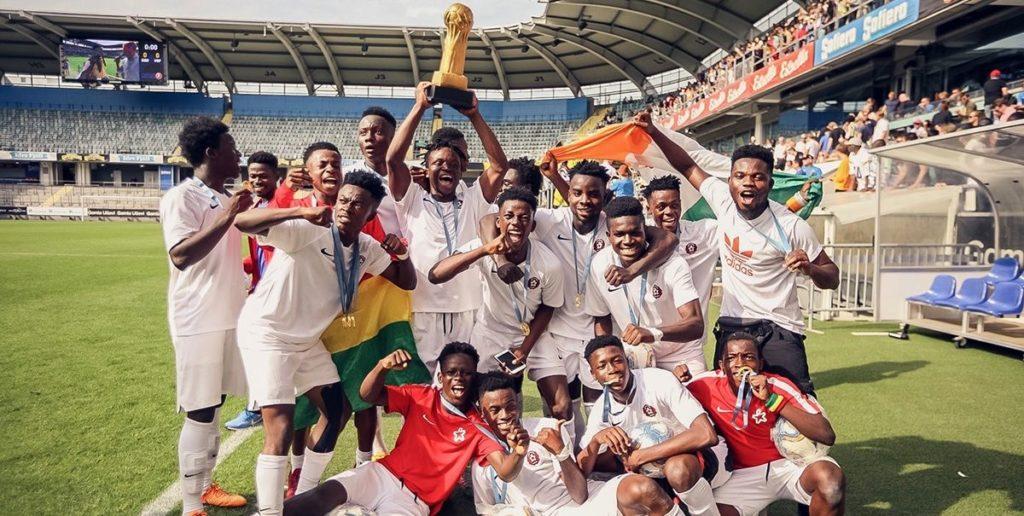 Right to Dream beat Nigerian side TikiTaka Academy to win Gothia Cup U17 trophy