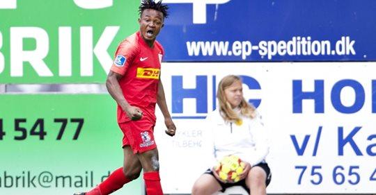 VIDEO: Watch goals from Isaac Atanga and Godsway Donyoh in Nordsjaelland win