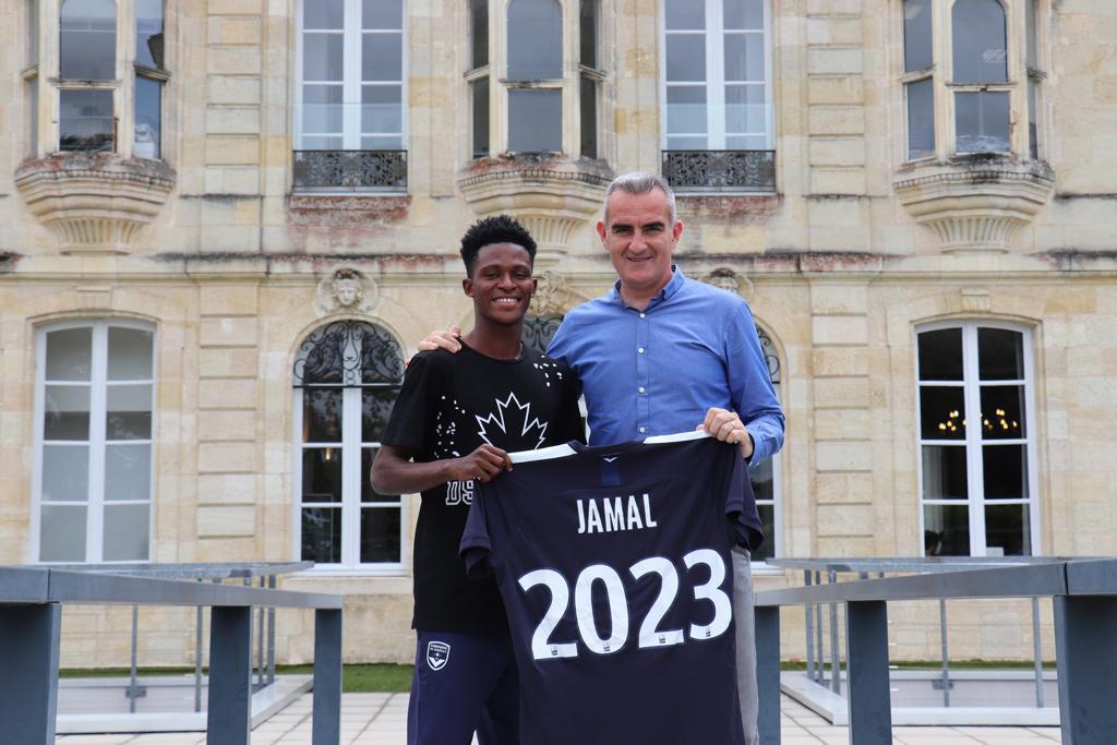 WAFA Wizkid Jamal Haruna signs for Bordeaux in France