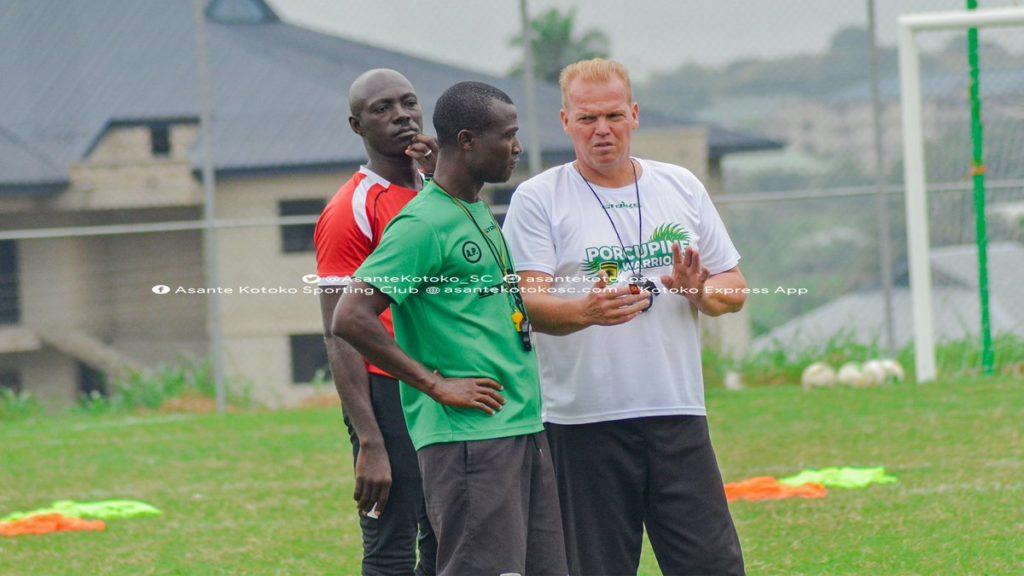 Kotoko coach Kjetil Zachariassen worried about Kano Pillars pitch ahead of CAF CL clash