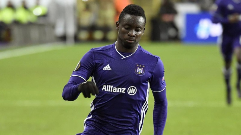 Anderlecht keen to cut ties with Ghanaian forward Dauda Mohammed