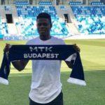 Hungarian side MTK Budapest sign 18-year-old midfielder Kwaku Agyemang
