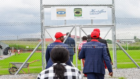 VIDEO: MTN handover new training pitch to Asante Kotoko