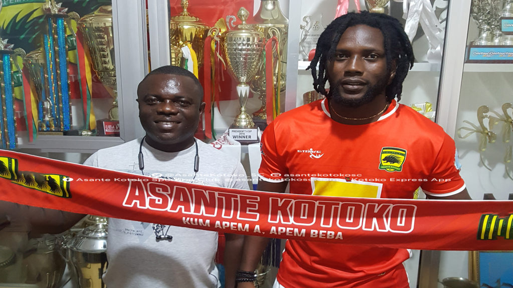 Asante Kotoko sign Ivorian striker Adingra Bidodane Moussa from Lobi Stars