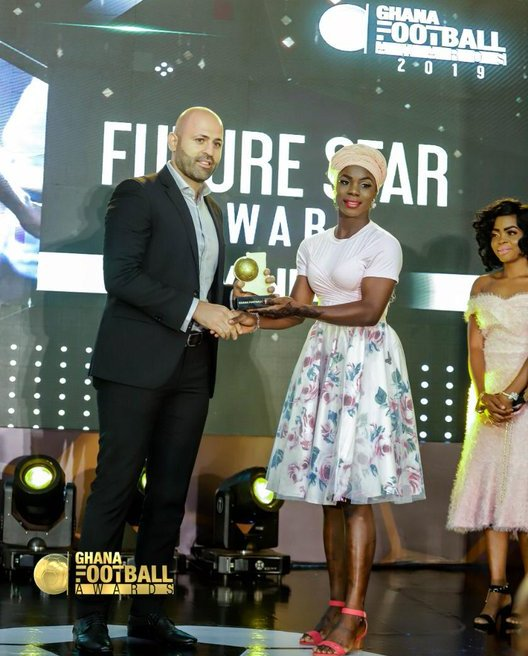 Ghana Football Awards: Mukarama Abdulai wins Women's Football & Future Star awards
