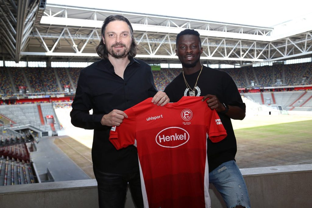 Fortuna Düsseldorf sporting director vouches new signing Nana Ampomah fit for Bundesliga
