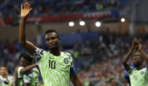 2019 Africa Cup of Nations: Nigeria captain Mikel Obi confirms international retirement