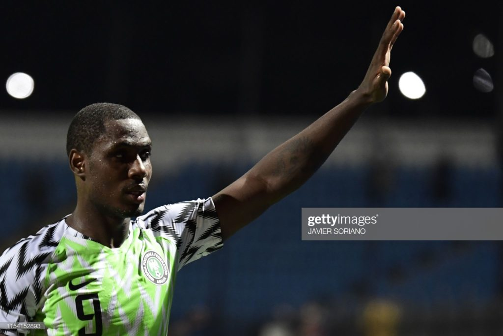2019 Africa Cup of Nations: Odion Ighalo breaks 25-year old AFCON record after clinching top scorer's gong