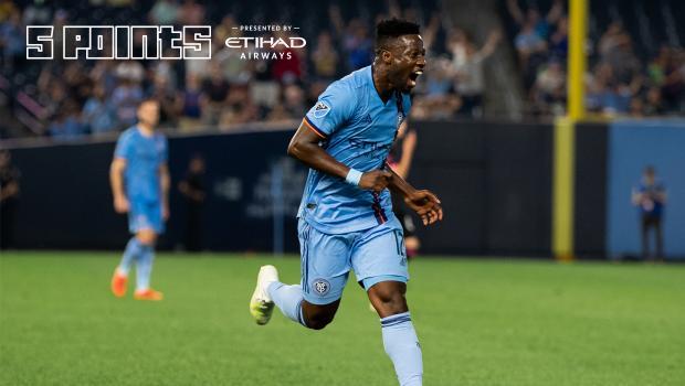 VIDEO: Ebenezer Ofori scores SCORCHER as New York City FC thump Seattle Sounders