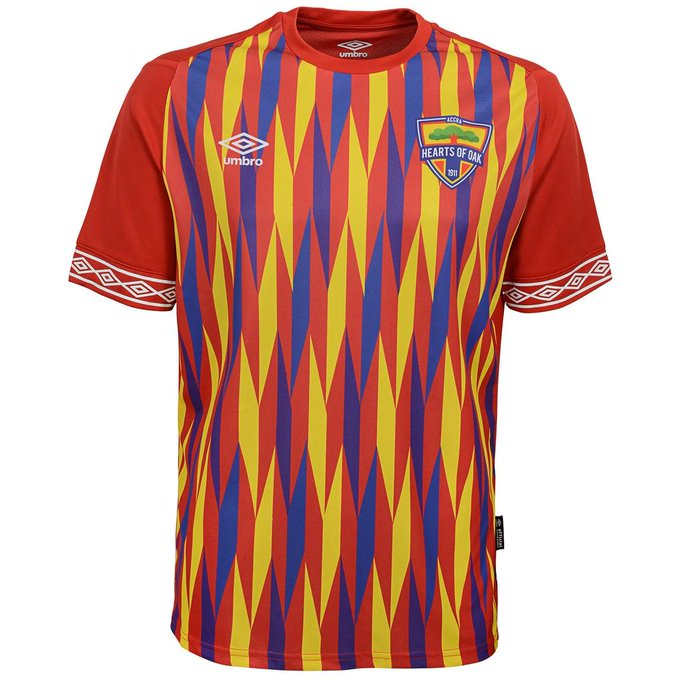 Hearts of Oak announce Kumasi outlet selling club's Umbro replica jerseys