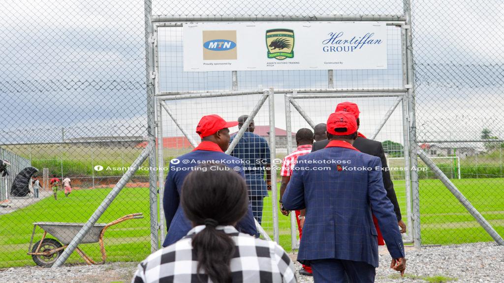 MTN to handover training pitch to Asante Kotoko on Thursday